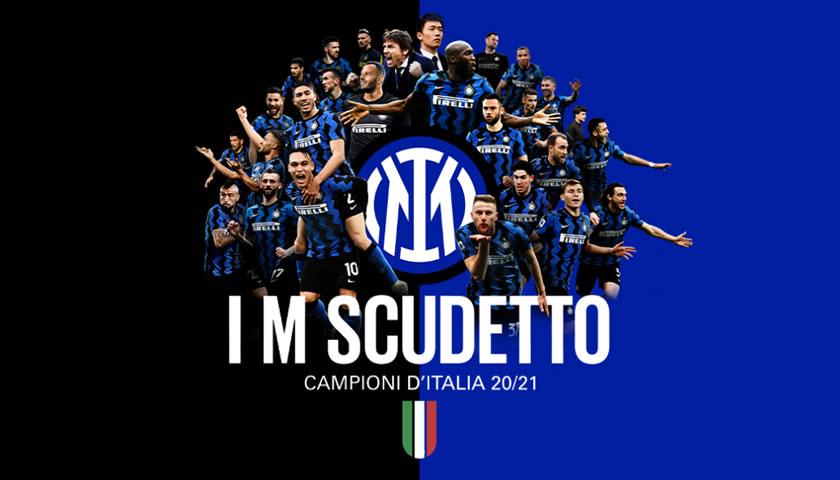 Inter je tudi matematično prvak Serie A 2020/2021